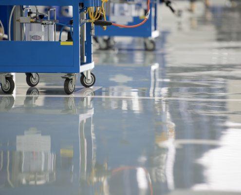 Self level epoxy flooring UAE