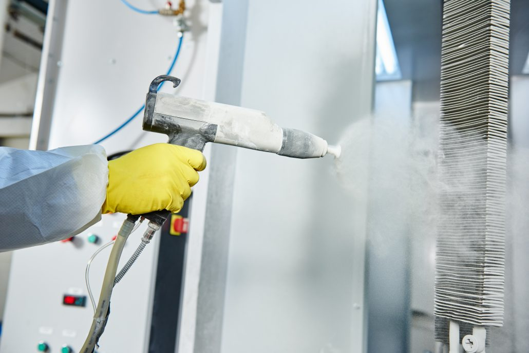 Powder Coating UAE - Process and Applications | Coatings ae
