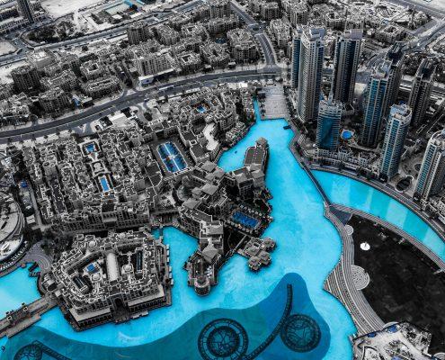 swimming pool coating applied in Dubai