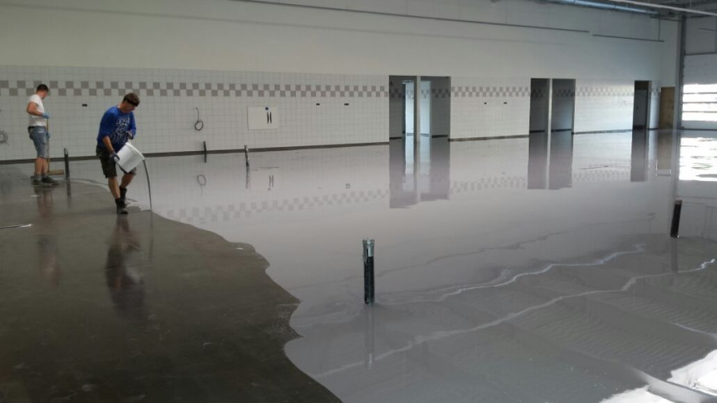Commercial Amp Industrial Floor Coating In The Uae Coatings Ae