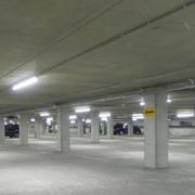Floor coating UAE in a Parking Garage