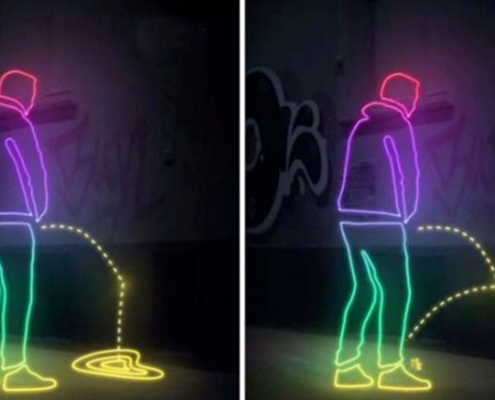 anti urine coating demonstration