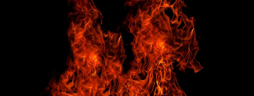 fire rated paint for steel keeps flames at distance