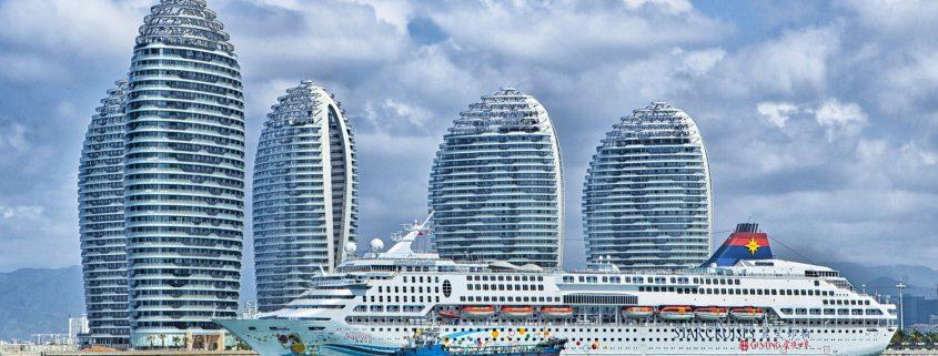 marine coating on cruise ship in Dubai UAE