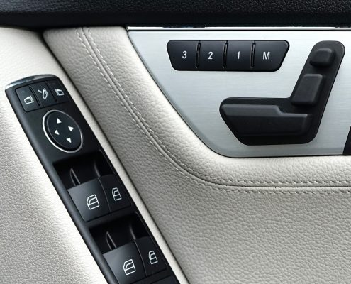 automotive interior coatings as haptic coating on buttons