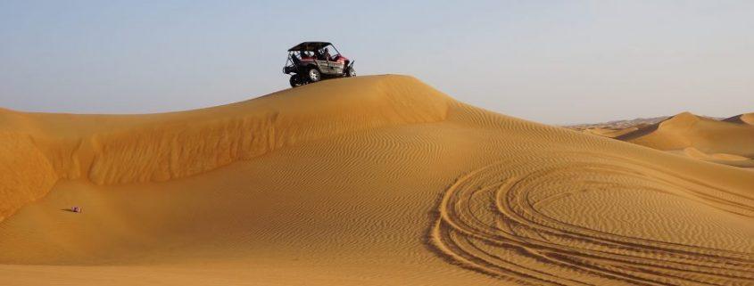 automotive underbody coatings under a desert vehicle