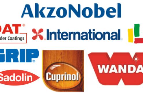 AkzoNobel industrial coating brands