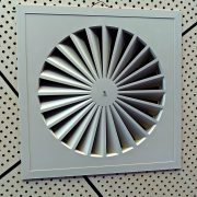 duct work with antimicrobial coating for ductwork