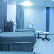 antimicrobial coating on walls and floor in hospital