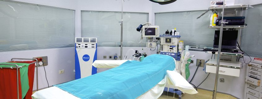 antimicrobial coating on hospital walls