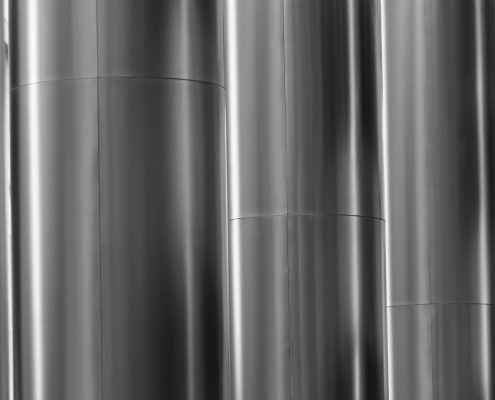 coil coating on metal sheet after fabrication