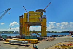 epoxy resins for offshore structure coatings